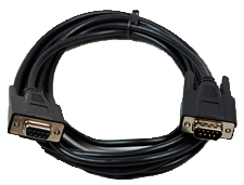 RS- 232 communications cable. Part Number: 0900-0003