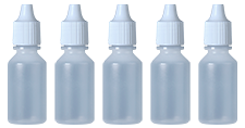8 ml sample vials. Part Number: 7000-159-010-05 (5 pack), Part Number: 7000-159-010-25 (25 pack), Part Number: 7000-159-011-05 (5 pack with buffer salts), Part Number: 7000-159-011-25 (25 pack with buffer salts).