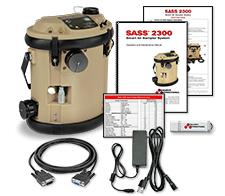 SASS 2300 air sampler system. Part Number: 7000-159-038-xx