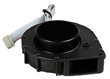SASS 2300 replacement high-speed fan. Part Number: 7200-159-162-01