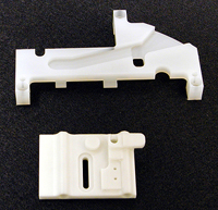 Machined components (metal and plastic)