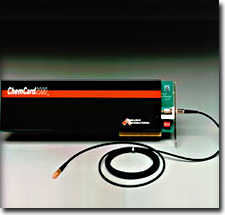 ChemCard2000, integrated fiber optic measurement system